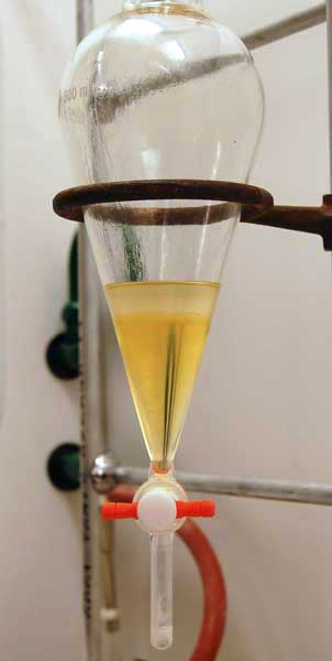 benzoic acid extraction lab Answer to separation of a three-component mixture by extraction, lab report help, the compounds are benzoic acid ,9-fluorene , and.