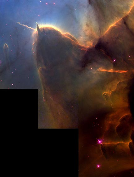 The Trifid Nebula Star Nursery