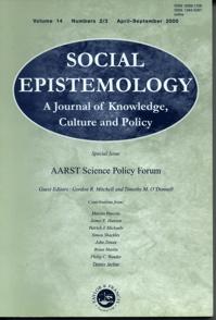 SocialEpistemologyCover