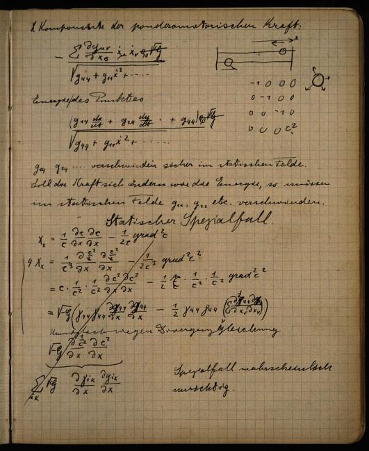 Einstein's Zurich Notebook