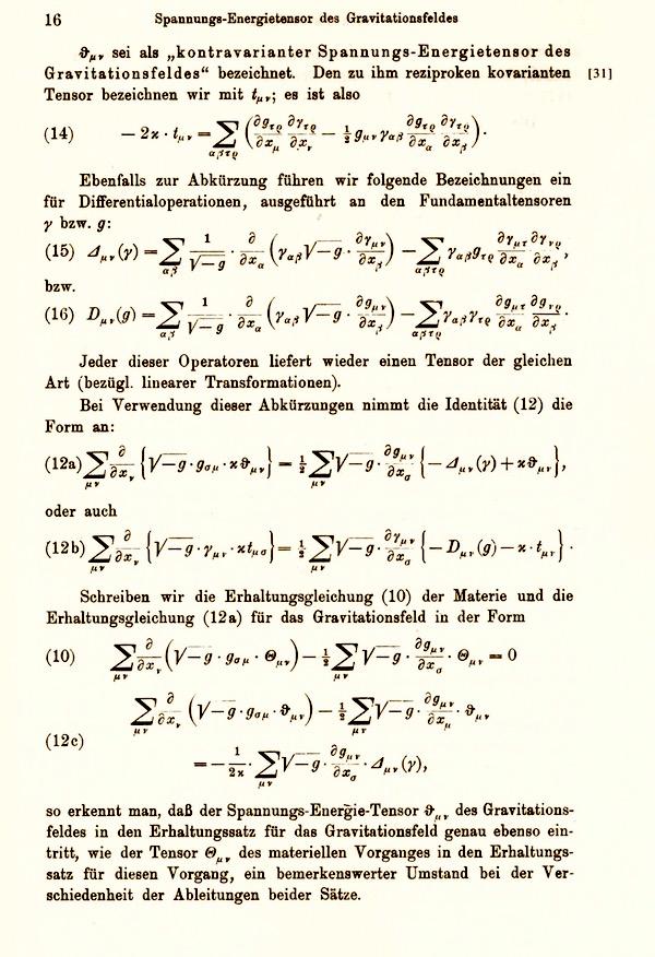Einstein's Pathway