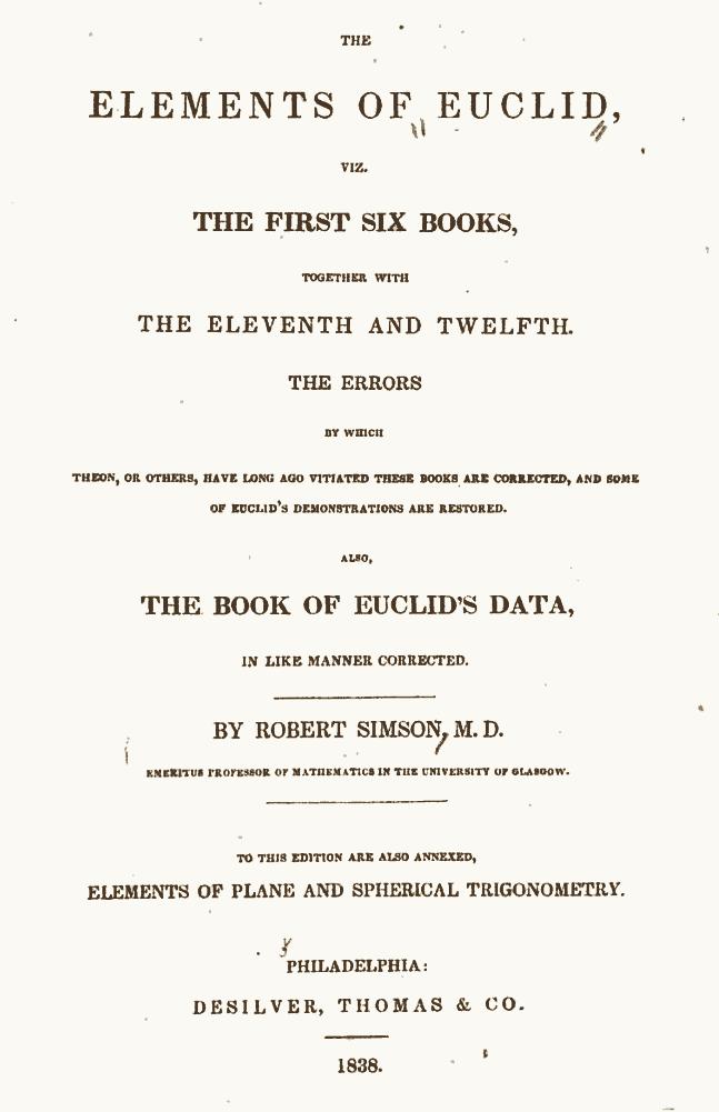 Euclidean Geometry Euclid Math Concept Elements Title, Newton Title Euclid Definitions, Newton Definitions