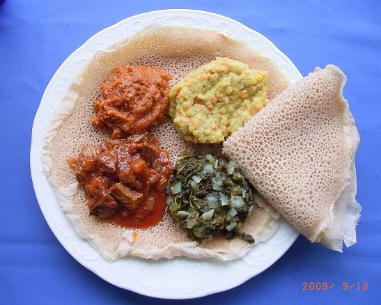 Mesob Across America: Ethiopian Food in the U S A