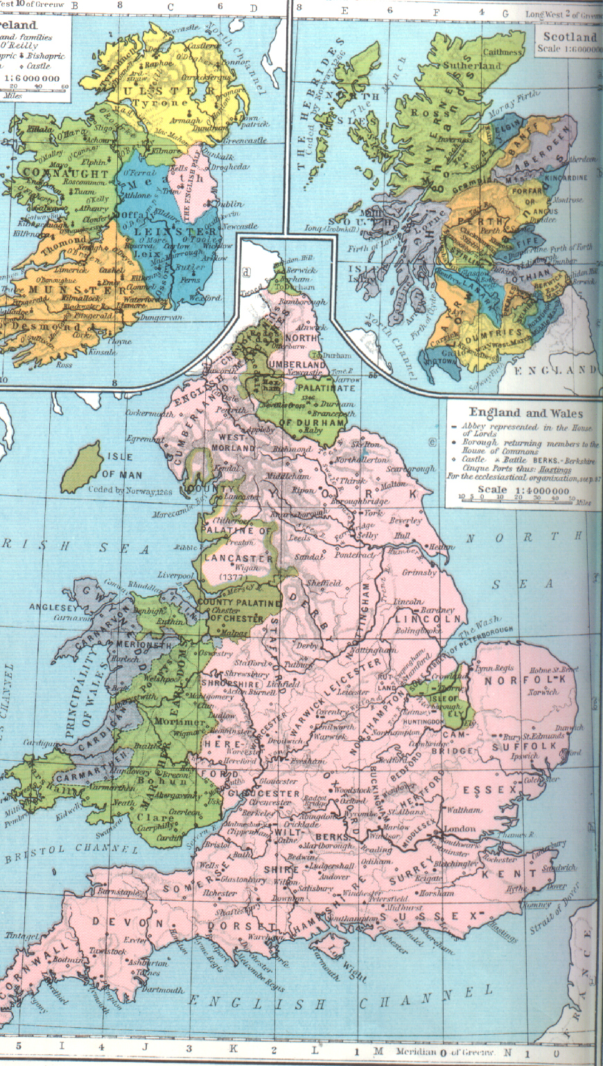Medieval England Map British Maps Home Page