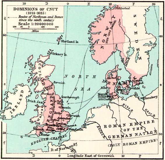 History Of English Maps - Norway map in english