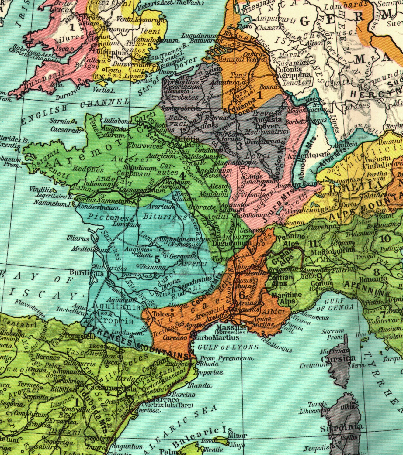 medieval france maps home page