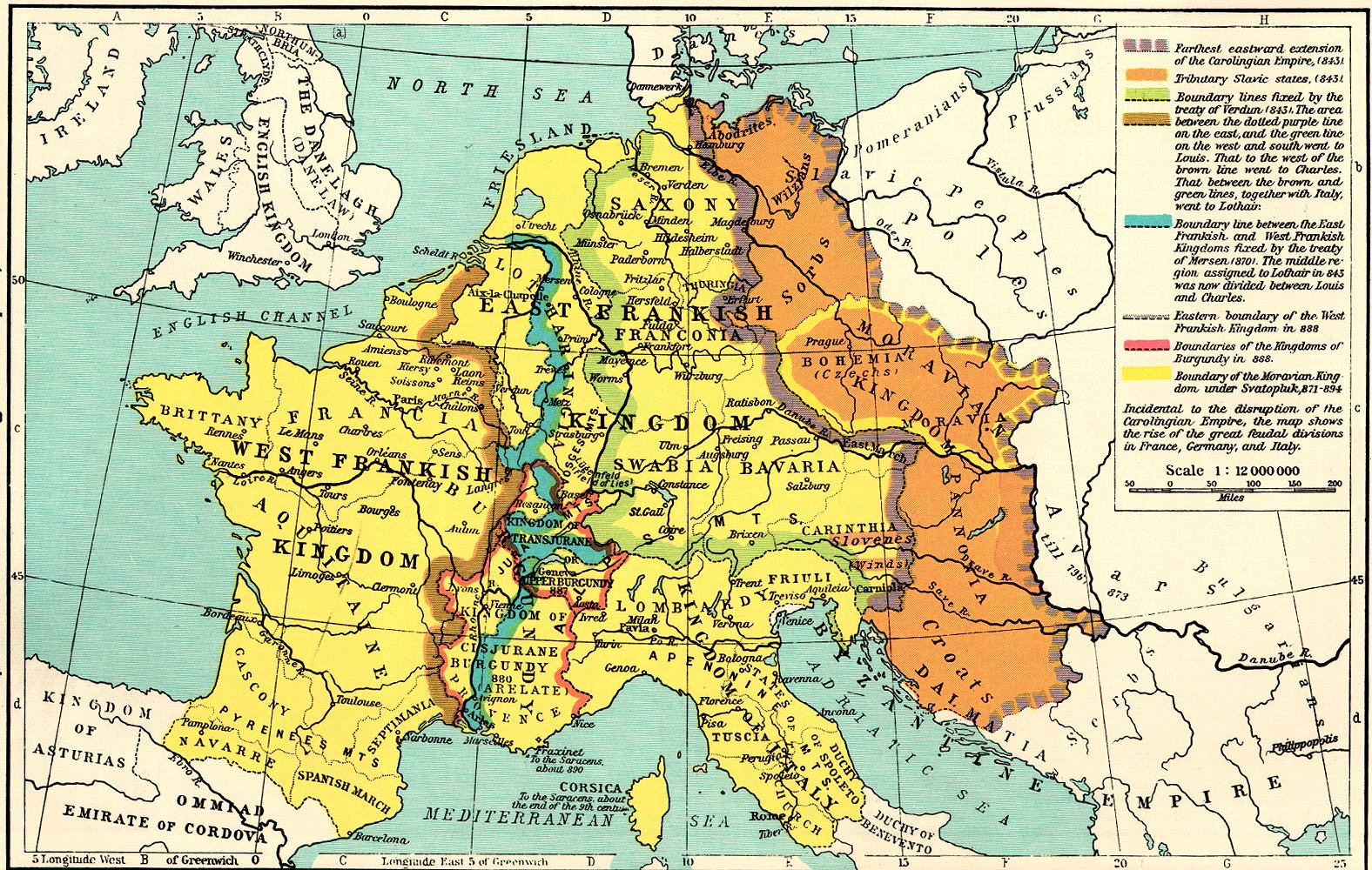 Medieval France Maps Home Page - Map of france