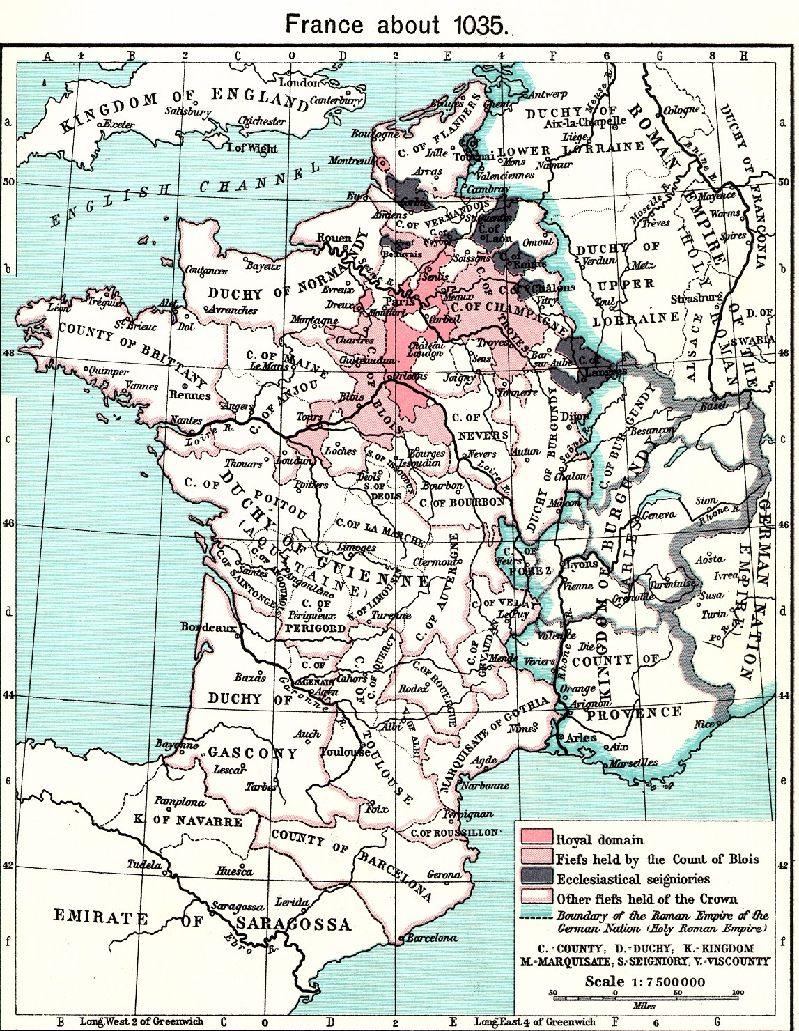 Medieval Map Of France.Medieval France Maps Home Page