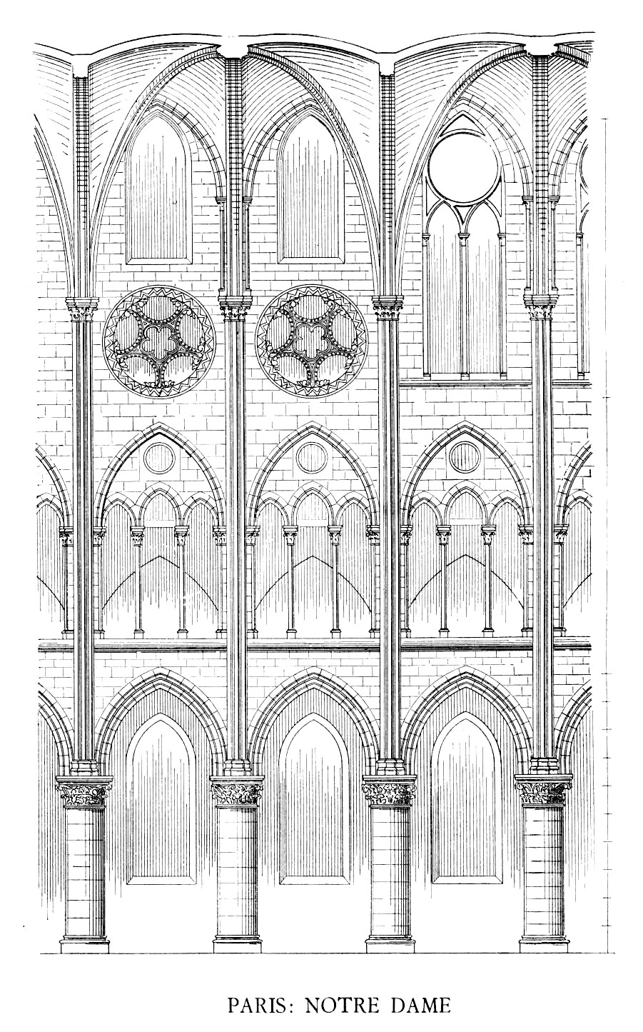 Medieval Cathedral Of Notre Dame