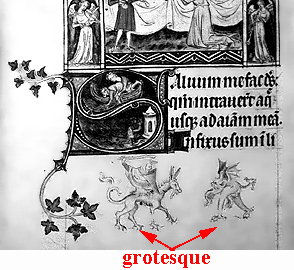 glossary of medieval art and architecture grotesque
