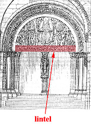 Glossary Of Medieval Art And Architecture Lintel