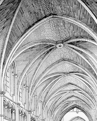 Glossary Of Medieval Art And Architecturesexpartite Rib Vault