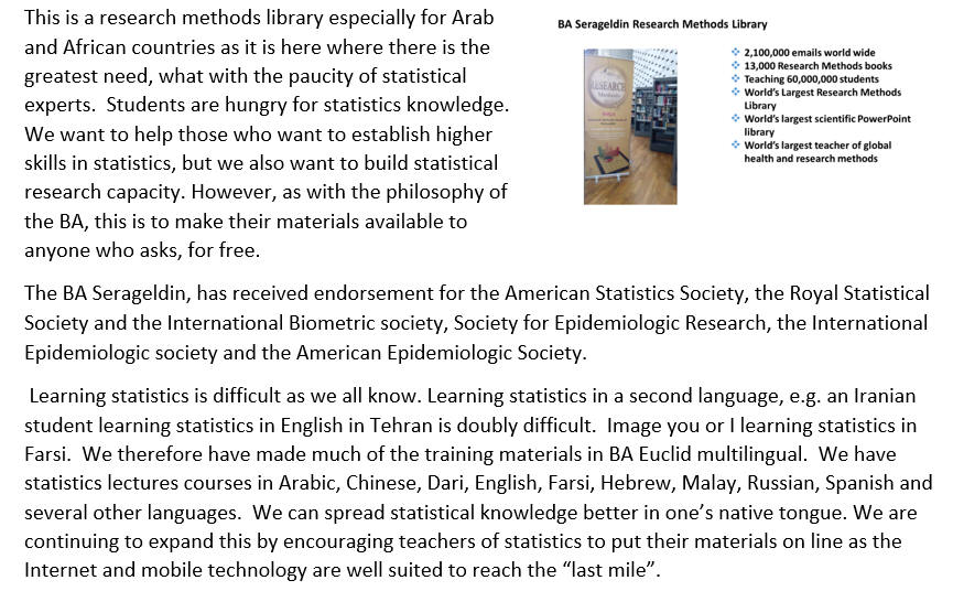 BA Serageldin Euclid research methods library