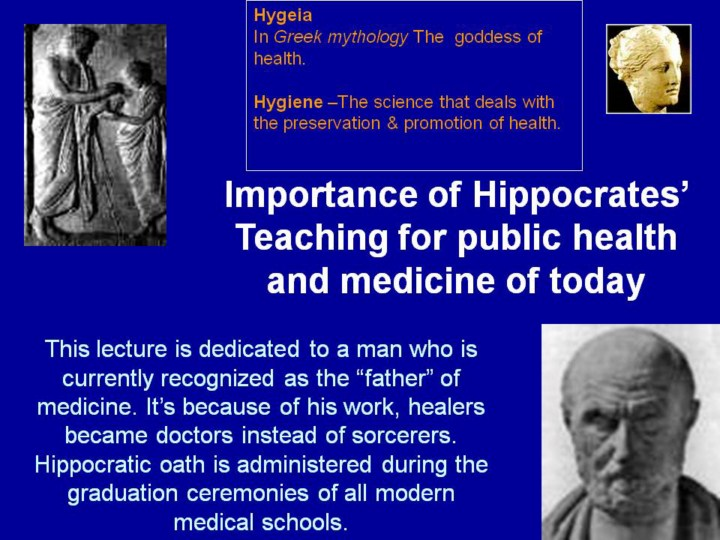 hippocrates the father of modern medicine essay