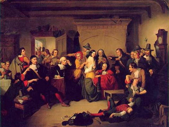 the account of events during the unfolding of the infamous salem witch hunt and trials Salem witchcraft trials the witchcraft trials in salem: an account chronology of events relating to images of the salem witchcraft trials map of salem.